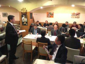 関さん(日本旅行部長)の講演
